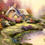 Cottage Villa 2019 New Dream 5d Diy Diamond Painting Kits VM9118