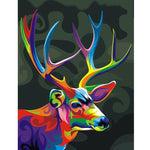 2019 5D DIY Mosaic Diamond Painting Kits  Deer VM6020