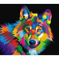2019 5D DIY Diamond Painting Kits Special Wolf VM6022