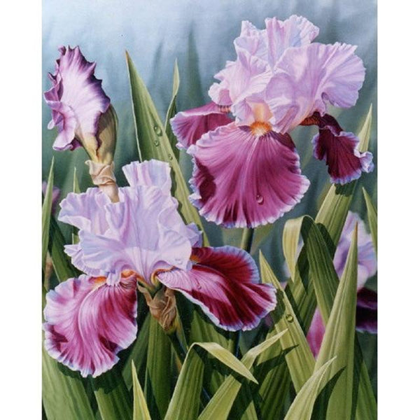 5D DIY Diamond Painting Beautiful Flower Cross Stitch Art VM90405
