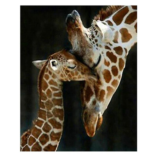 2019 5D DIY Diamond Painting Kits Giraffe VM90186