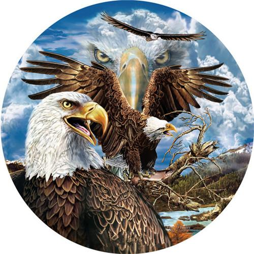 2019 5d Diy Diamond Paintings Eagle Protrait VM1960