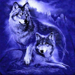 2019 5d Diy Diamond Painting Wolf protrait  VM1973 (1766967345242)