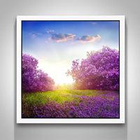 2019 5D DIY Diamond Painting Kits Lavender Fields VM92033