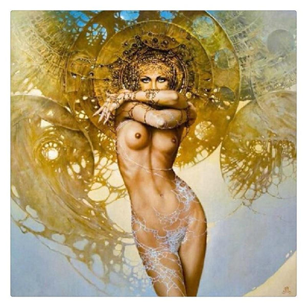 2019 5D Diy Diamond Painting Kits Cross Stitch Nude Naked Women VM92304