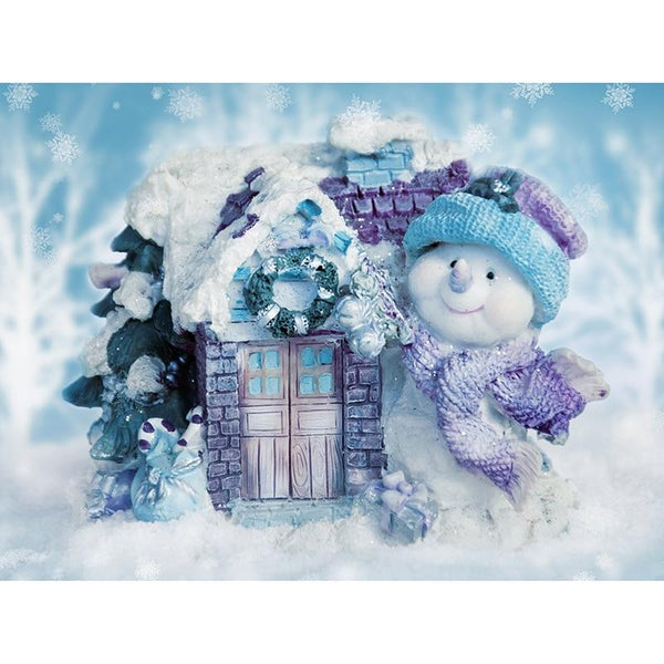 5D DIY Diamond Painting Kits Embroidery Art Christmas Snowman VM90799