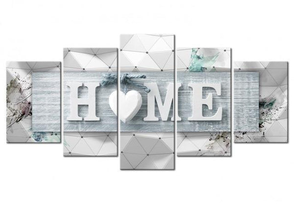 5pcs Large Size 2019 Sweet Home Multi Panel 5d Diy Diamond Painting Kits VM9789