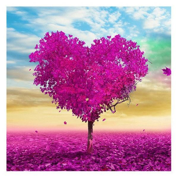 Fantasy Heart Tree 5d Diy Embroidery Cross Stitch Diamond Painting Kits NA0991