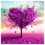 Fantasy Heart Tree 5d Diy Embroidery Cross Stitch Diamond Painting Kits NA0990