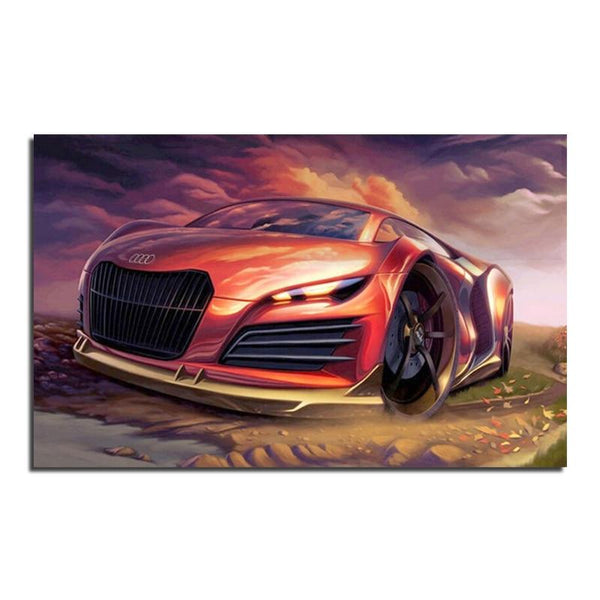 2019 5D DIY Diamond Painting Kits Audi Sports Cars VM90053