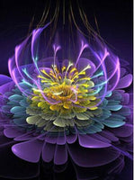 5D DIY Diamond Painting Kits Colors Abstract Flower VM90812