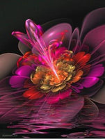 5D DIY Diamond Painting Kits Embroidery Art Colors Abstract Flower VM90818