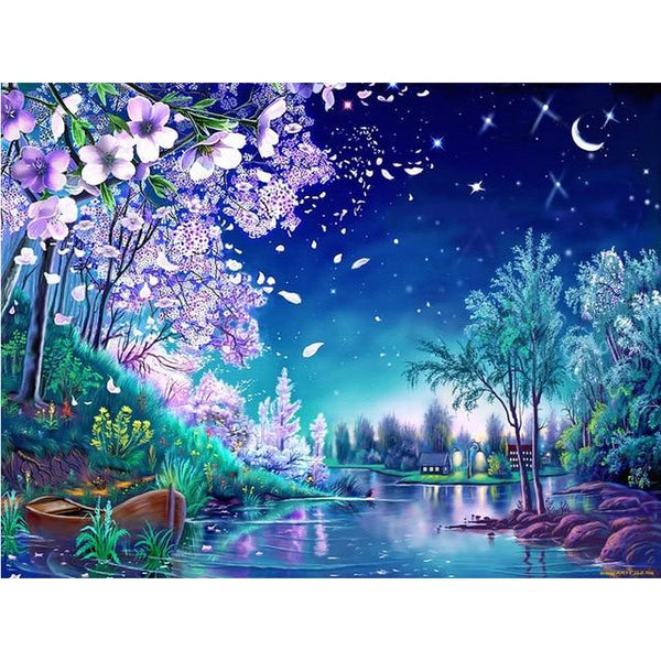 2019 5d Diy Diamond Painting Kits Dream Natural VM3657 (1767007584346)