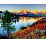 Natural Mountain 5d Diy Diamond Painting Cross Stitch VM3670