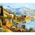 2019 5d Diy Diamond Painting Kits Town Scenery VM3671