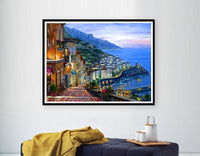 2019 5D DIY Diamond Painting Kits Landscape Seaside VM5020