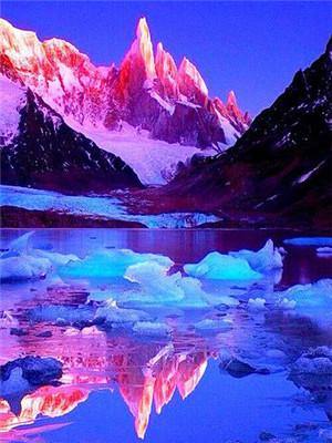 2019 5D Diy Diamond Painting Kits Moutain Lake VM4204