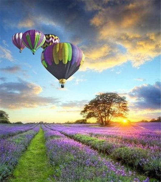 2019 5D DIY Diamond Painting Kits Hot Air Balloon NA0644