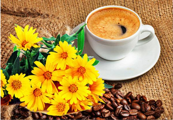 2019 5d Diy Diamond Painting Kits Coffee Cup Sunflower VM20504