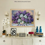 5d Modern Art Colorful Flower Diy Diamond Painting Set VM7762