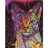 Hot Sale Special Colorful Cute Cat 5D DIY Diamond Painting Kits VM7395
