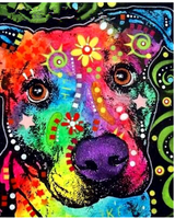 Hot Sale Special  Colorful Wall Decoration Dog Diy 5d Diamond Painting Cross VM1948 (1766963413082)
