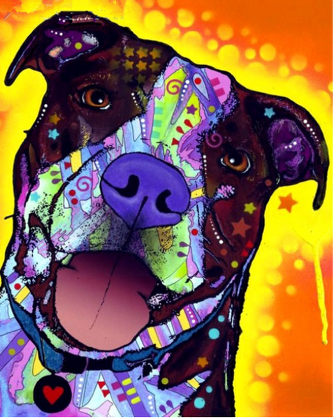 2019 5d Diy Diamond Painting Special Gift For Kids Colorful Dog VM1929 (1766961053786)