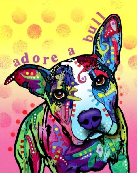 Hot Sale Special Colorful Wall Decoration Dog Diy 5d Painting Diamond VM1949 (1766963019866)