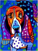 Hot Sale Special Colorful Wall Decoration Dog Diy 5d Painting Diamond VM1952 (1766964166746)