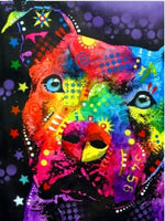 2019 5d Diamond Painting Special Colorful Dog VM1935 (1766961709146)