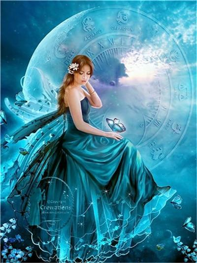 5d Diamond Painting Kits Special Dream Popular Beautiful Fairy VM8027