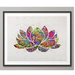 Modern Art Lotus 5D Diy Embroidery Cross Stitch Diamond Painting Kits NA0143