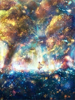 Fantasy Dream Colorful Fairyland Magic Forest 5d Diy Diamond Painting Kits VM7836
