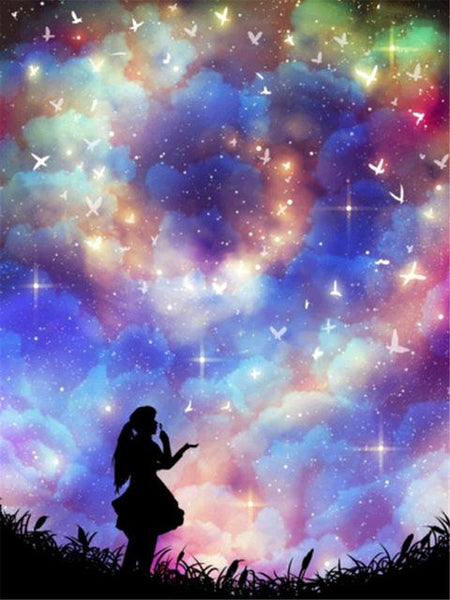5d Diy Diamond Painting Kits Dream Starry Sky VM7834