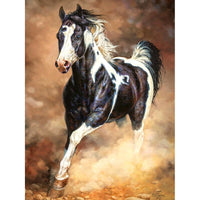 5D DIY Diamond Painting Cross Stitch Art Running Horse VM90513