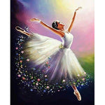 2019 5d Diy  Diamond Painting Kits Art Dancer Girl NA0945