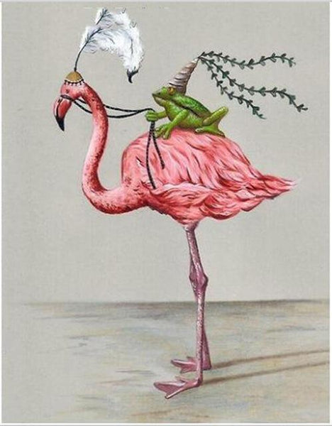 Funny Style Full Drill Flamingo 5d Diy Diamond Painting Kits NA0388