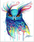Hot Sale Special Square Drill Colorful Animal Owl 5d Diy Diamond Painting Kits VM9634