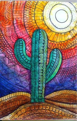 Modern Art Plant Cactus 5D Diy Embroidery Cross Stitch Diamond Painting Kits NA0340
