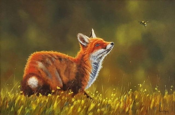 2019 5d DIY Diamond Painting Kits  Animal Fox  VM8292