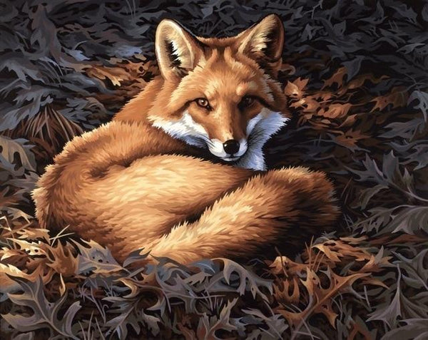 2019 5d DIY Diamond Painting Kits Mosaic Home Decor Fox VM8295