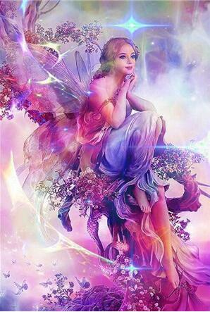 2019 5D DIY Diamond Painting Kits Embroidery Art Fairy VM90848