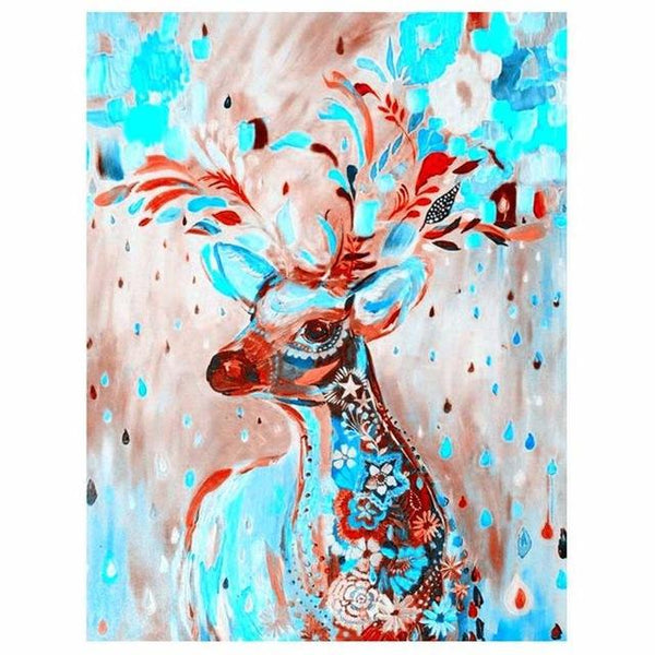 5d Diy Diamond Painting Kits Oil Painting Style Dreamy Deer VM7377