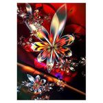 2019 5D DIY Diamond Painting Kits Modern Art Abstract Flower VM7379