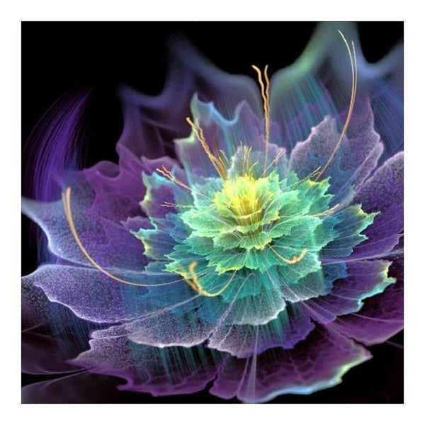 Colorful Dream Lotus Flower 2019 New 5d Diy Diamond Painting Kits VM7416