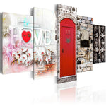 5pcs Door Sweet Home Multi Panel Large Size 5d Diy Diamond Painting Kits VM9795