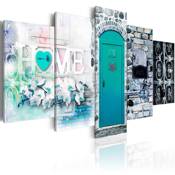 5pcs Door Sweet Home Large 2019 New Multi Panel 5d Diy Diamond Painting Kits VM9794