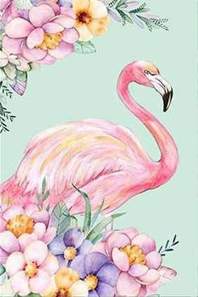 2019 5d Diy Diamond Painting Kits Flamingo VM7827