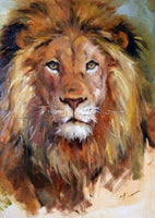 2019 5d Diy Diamond Painting Kits Oil Painting Style Lion VM7370