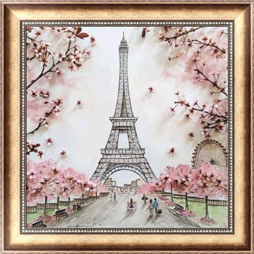 2019 5d DIY Diamond Painting Kits Eiffel Tower VM6213